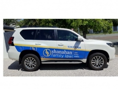 Shanahan-Family-Law-Vehicle-signage-by-NSIGNSQLD
