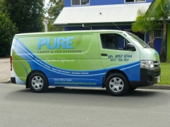 NSIGNSQLD-Pure-Carpet-and-Tile-Cleaning-Van-Wrap